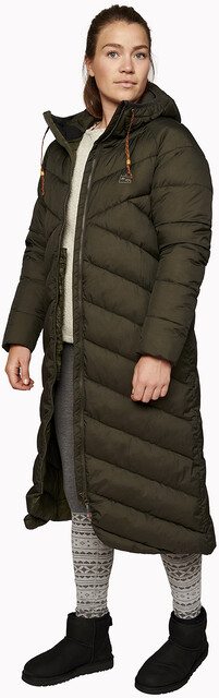 Varg Kalix Eco Down Parka Women peat green